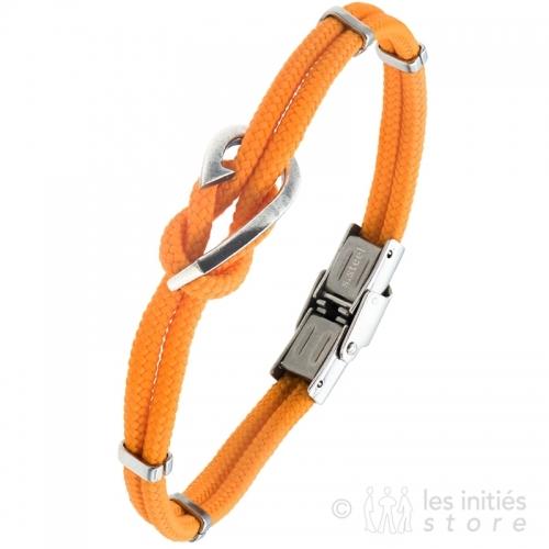 orange men's bracelet