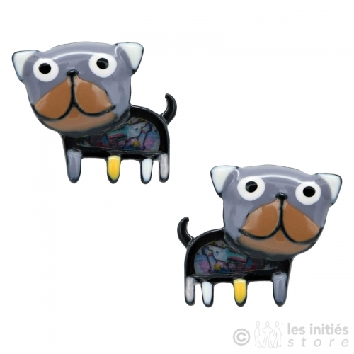 litle dogs earrings