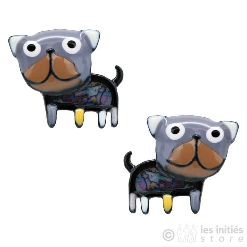 Boucles d'oreilles petits chiens