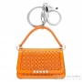 porte clés sac orange