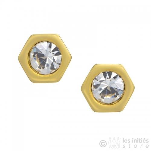 exagones Zag earrings