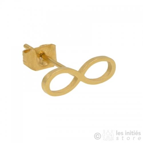 Boucles d'oreilles petites dorées