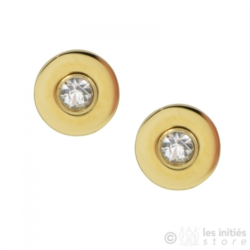 little rhinestone earrings