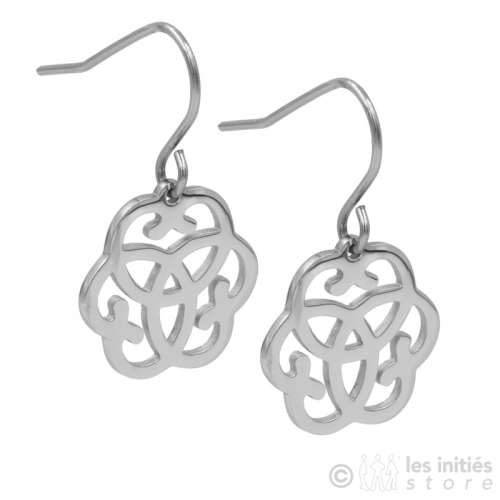 lucky symbol earrings