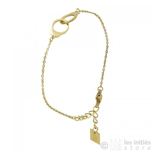 Bracelet Zag vraies menottes
