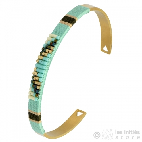 Bracelet rocaille indien Zag