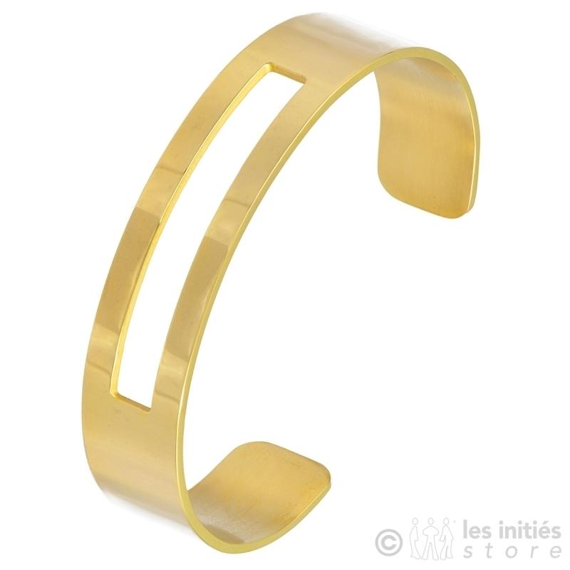 geometric art bracelet