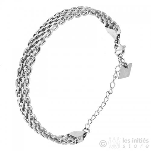 Magnifique bracelet souple acier anallergique