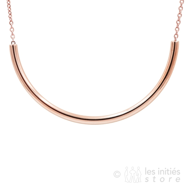 curvy long necklace