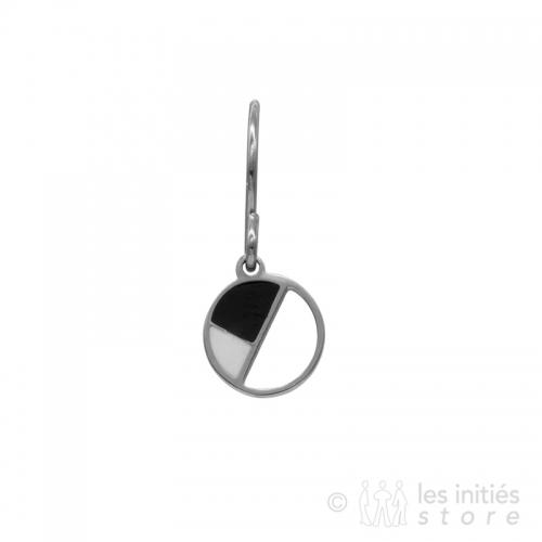 abstract shape earrings
