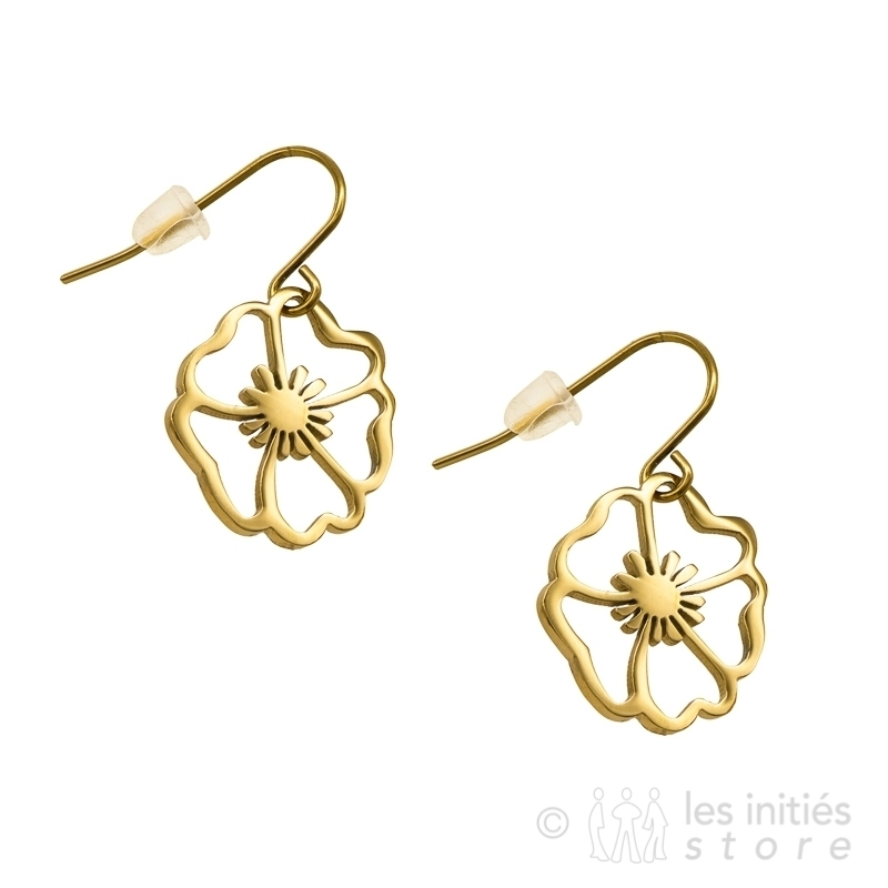 fower earrings