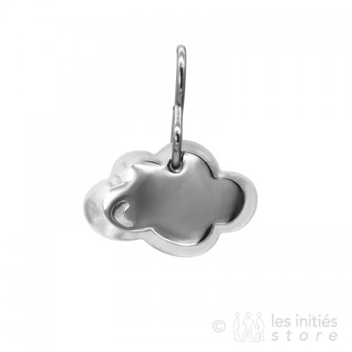 pearly cloud earrings