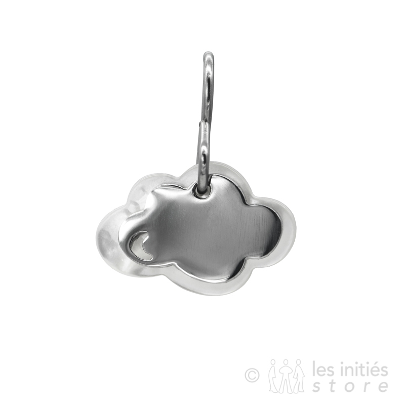 pearly cloud earrings