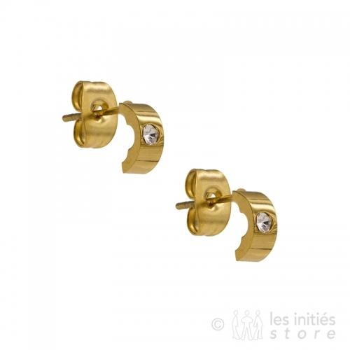 Petit anneaux dorés