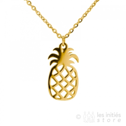 beautiful golden pinapple