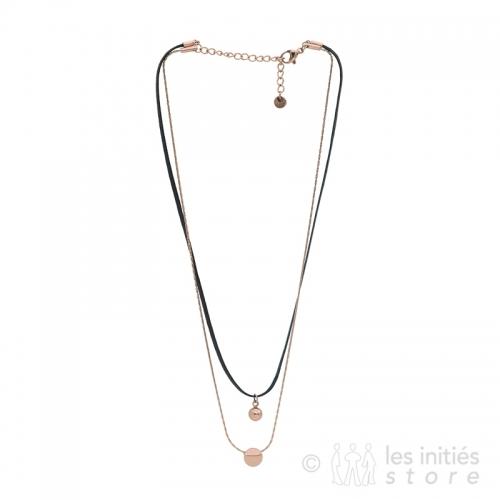 pink gold ikita necklace