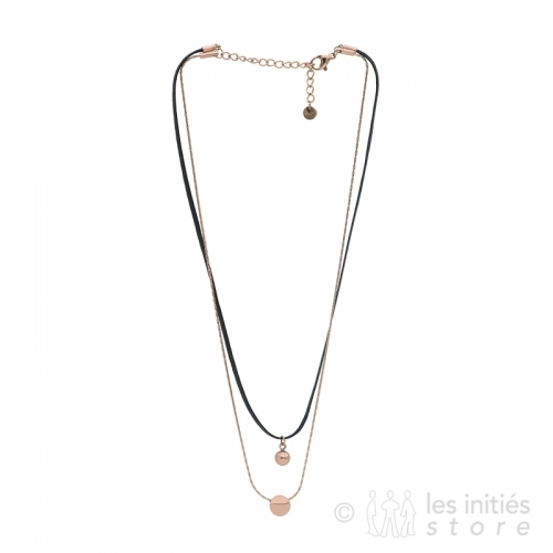 pink gold ikita necklace