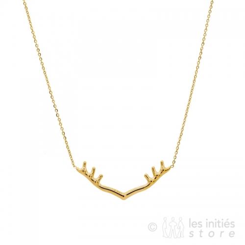 deer horns necklace