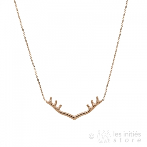 hunter's necklace rose gold