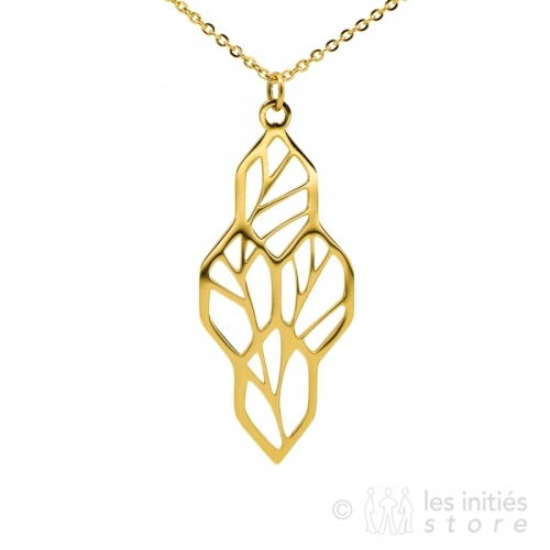 Collier branches d'arbre