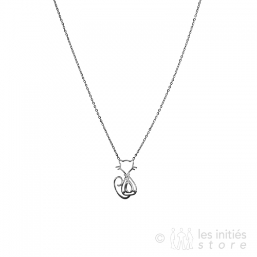 litle cat necklace