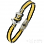 yellow men bracelet