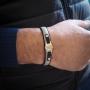 Bracelet Elden cuir douille