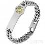 Idée de cadeau - Bracelet Sniper tout acier inoxydable