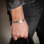 bullet case men bracelet