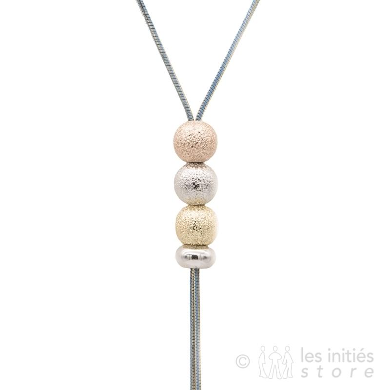 long pendant necklace 3 gold