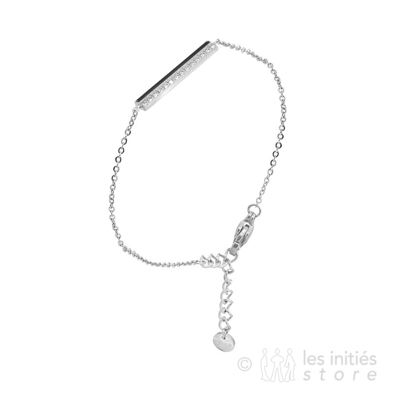 rhinestone bracelet silver