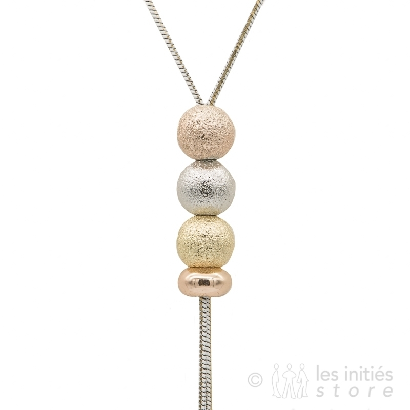 adjustable pendant necklace