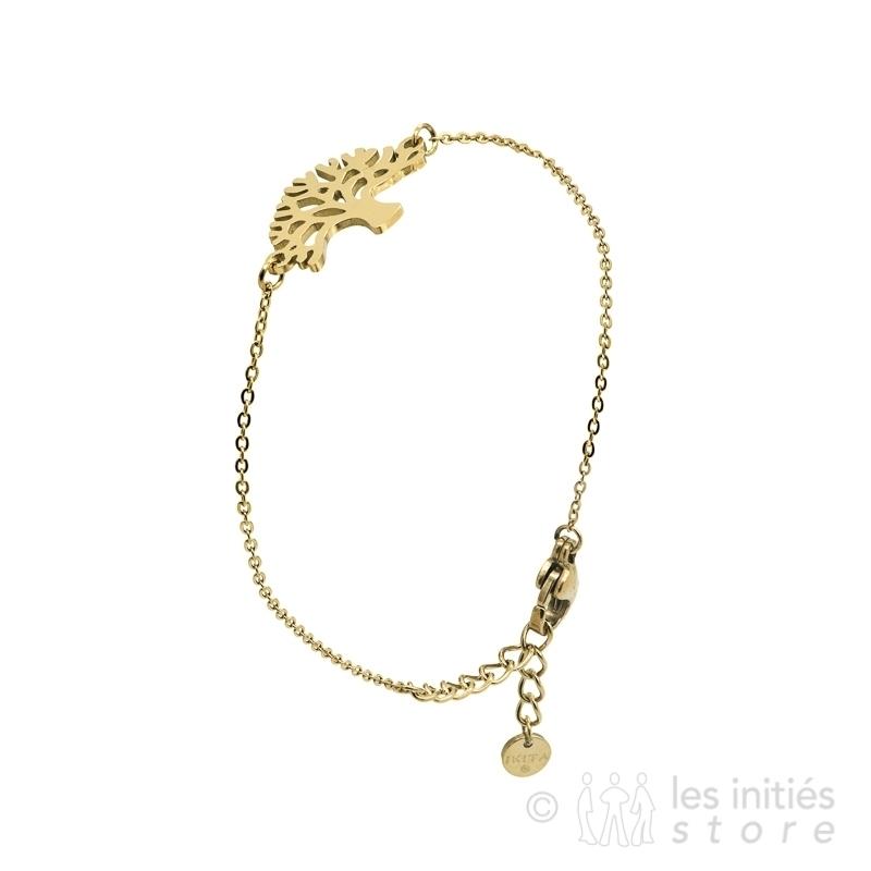 cabala tree gold bracelet