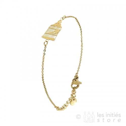 Bracelet original doré