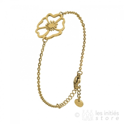 openwork poppy bracelet
