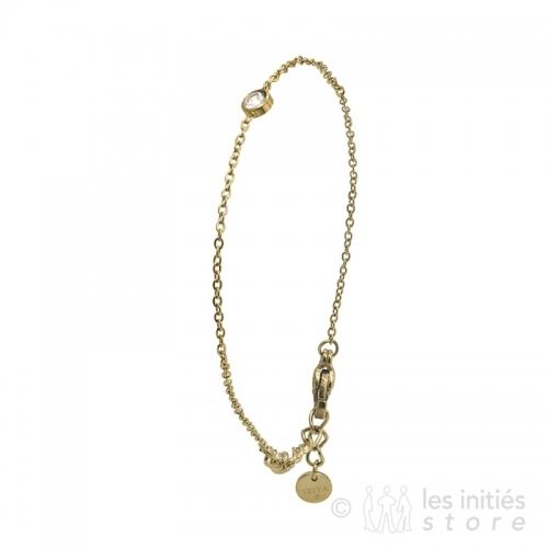 Bracelet très discret doré