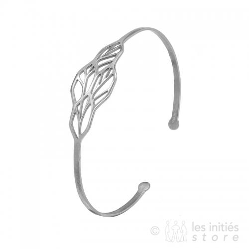 Bracelet vitrail argent