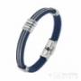 Bracelet cuir et câbles