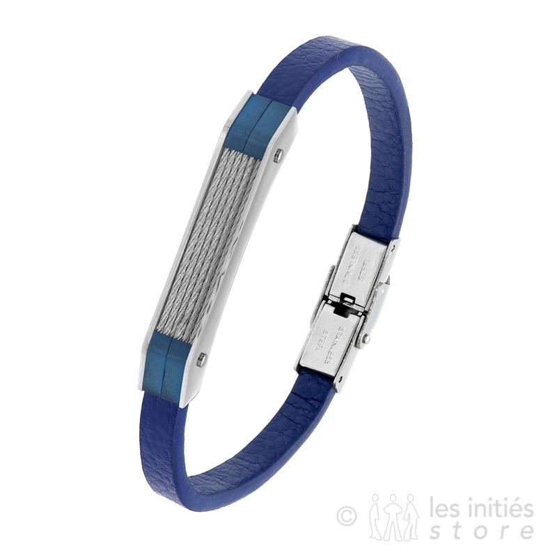 Bracelet homme art mécanique