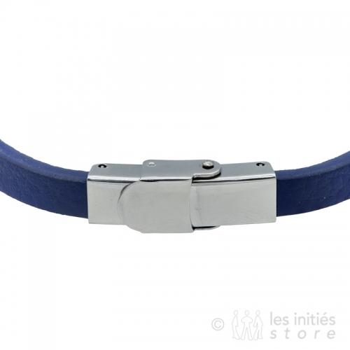 Bracelet cuir homme art mécanique