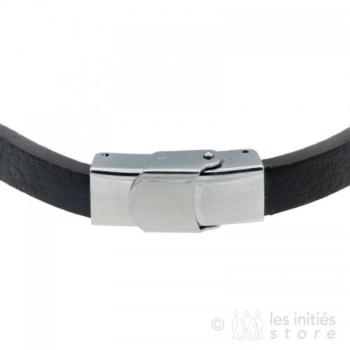 fermoir sécurisé bracelet cuir