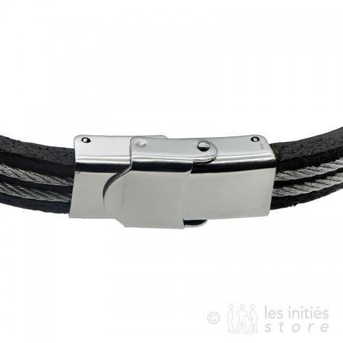 Bracelet homme réglable