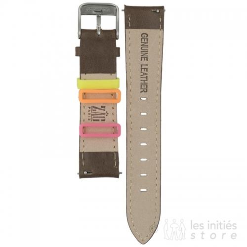Bracelet montre à fixation facile sans outils