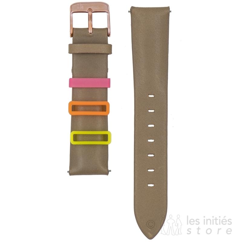 Bracelet montre à fixation rapide