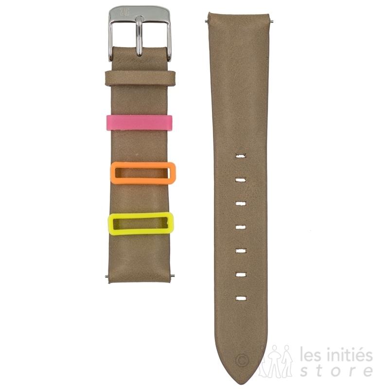 Bracelet montr à fixation sécurisé