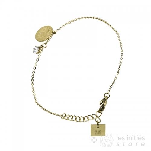 Bracelet Zag bijoux doré