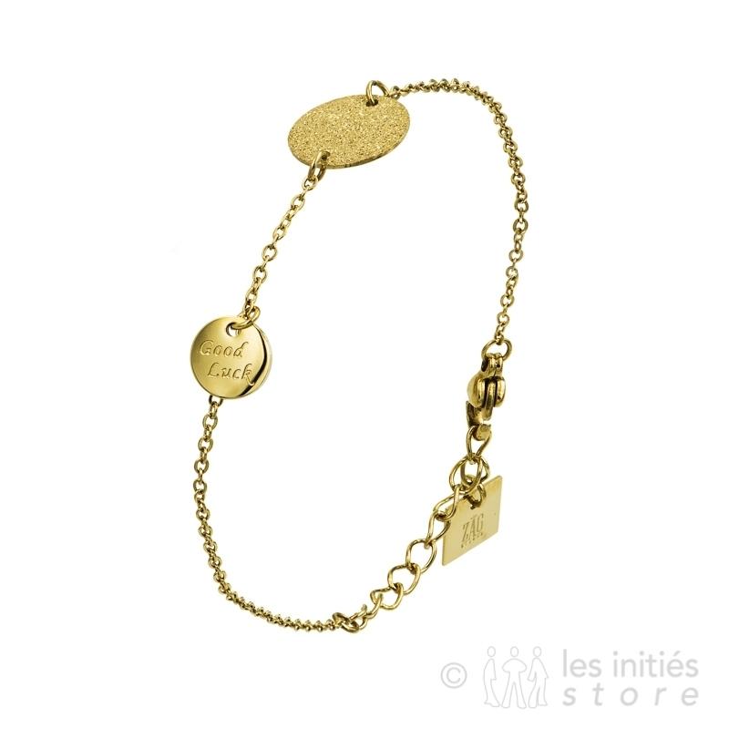 Bracelet médaillons Zag Bijoux