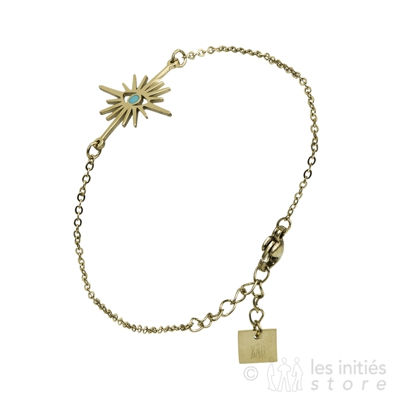 Bracelet étoile et oeil Zag Bijoux