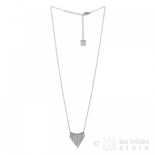Collier en triangle Zag