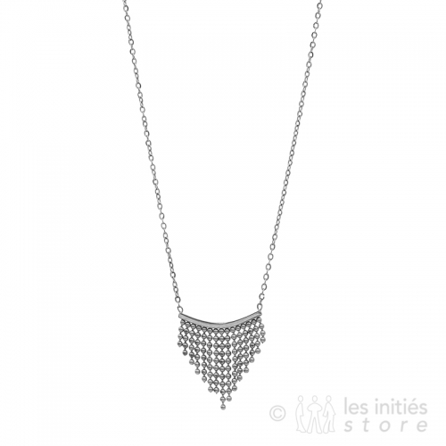 geometrical art necklace